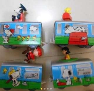 Snoopy & MTR train sets 小玩意精選
