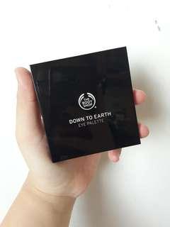 Body Shop Down To Earth Eye Palette