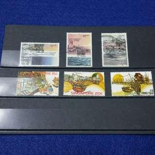 Singapore Stamps 1975 & 1978