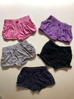 5x Shorts (2) VGUC