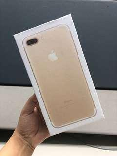 Iphone 7 plus (BOX ONLY)