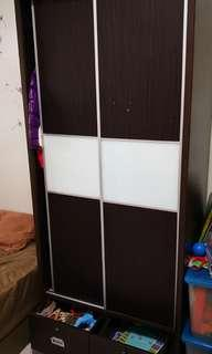 4 unit of 2 sliding door wardrobe