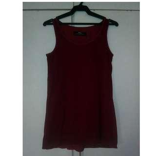 Repriced [!] Red Sleeveless
