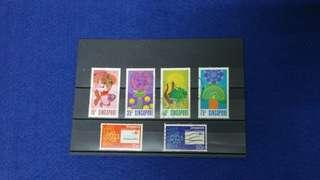 Singapore Stamps 1972 & 1979