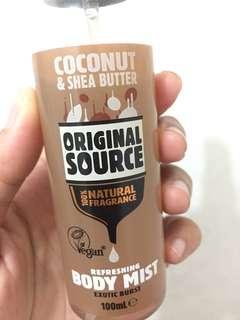 Body Mist Coconut & Shea Butter