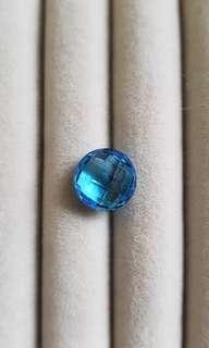 Blue swiss topaz 6 cts BFS23-25