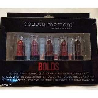 BOLDS Glossy & Matte Lipstick