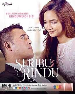 Novel Seribu Rindu adaptasi drama