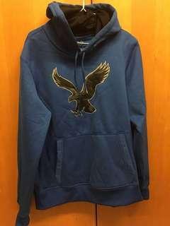 🚚 American eagle 藍色帽t  M 9成新
