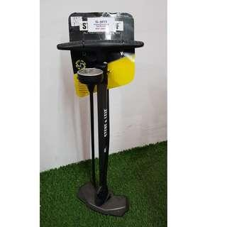 [CLEARANCE 50%] U.P $69.90 - Steve & Leif Galaxy Bicycle Floor Pump (Top Mounted Gauge) [Local Seller Warranty] Limited Stock!