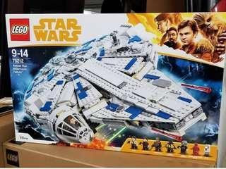 Lego Kessel Run Millinnium Falcon 75212