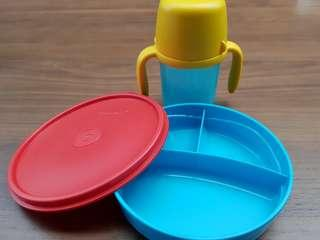 Almost new Kids Tupperware Set