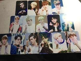 SEVENTEEN Vernon fansite photocard set