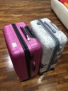 Luggage 28 inch- 2 for rm100- not for fussy buyers