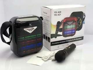 Bluetooth speaker with Wireless Mic