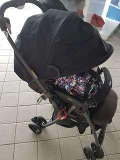 Stroller Aprica luxuna CTS