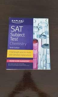 SAT Subject Test ~ Chemistry (KAPLAN Tenth Edition)