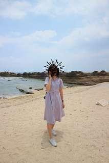 SM WOMAN STRIPED DRESS