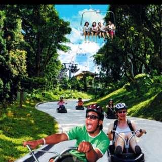 5R Ride Luge & Skyride $22