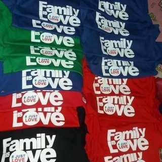 Family love shirt