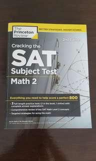 SAT Subject Test ~ Math 2 (The Princeton Review 2nd Edition)
