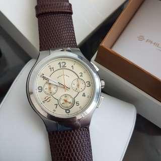 Men's watch 45mm chronograph