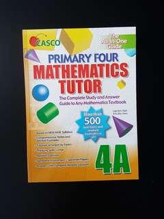 Assessment Book: Primary Four Mathematics Tutor 4A