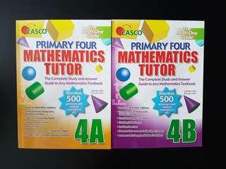 Assessment Book: Set of 2 Primary Four Mathematics Tutor 4A & 4B