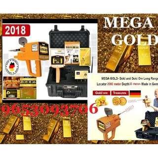 MEGA GOLD Accurate Locator Metal Gold Detector