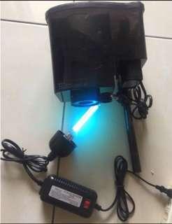 Hai Yang HY-624 500L/H 7Wuv殺菌燈 除油膜外掛式過濾器 外掛過濾機 外掛