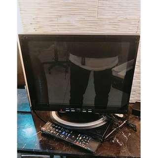 松山二手家具  22吋電視螢幕含遙控    二手家具北台灣收購