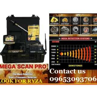 MEGA SCAN PRO Metal Gold Detector Maximum Deep 40m