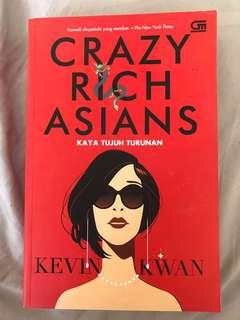 Crazy Rich Asian Novel by Kevin Kwan