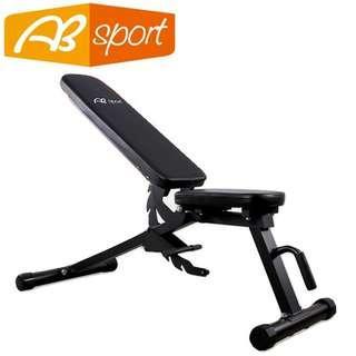 【健魂運動】七段式可調啞鈴椅(AB Sport-Seven Position Adjustable Bench)