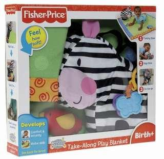 Fisher-Price Discover 'n Grow Take-Along Play Blanket