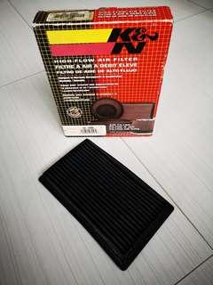 K&N Air Filter for Nissan Latio