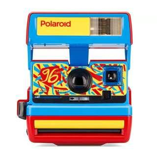 Polaroid 600 Camera - 96 Cam - Jazz Red