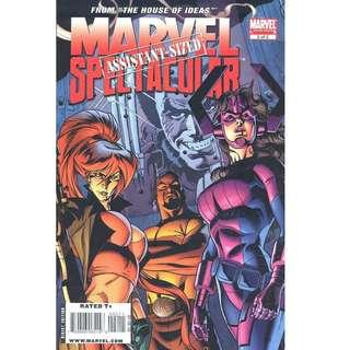 Marvel Assistant Sized Spectacular (2009 Marvel) 2, First appearance of galacta - daughter of Galactus