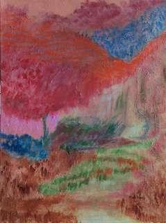 Original Acrylic Painting by Artist & Healer, Melo Ngai