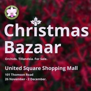 Early 2018 Christmas Bazaar @ United Square Shopping Mall