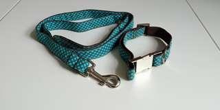 Handmade Dog Leash and Collar Set