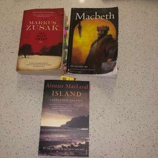 The Book Thief + Island & Macbeth