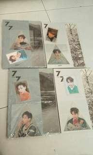 Got7 7 for 7 Present Edition Member Sets