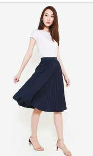 AWE- Clarice pleat skirt