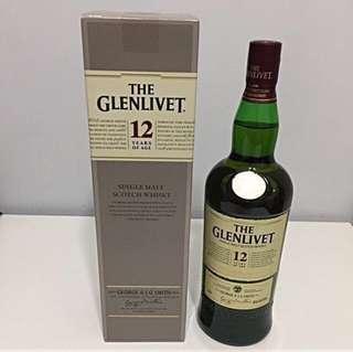 Glenlivet 12 Years - 1 Litre