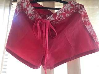 Pink Board Shorts