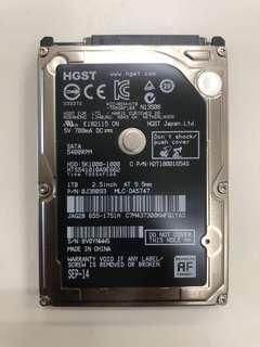 1TB 2.5inch Hard Disk
