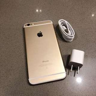 second hand IPHONE 6 Plus 64G Gold  Good condition