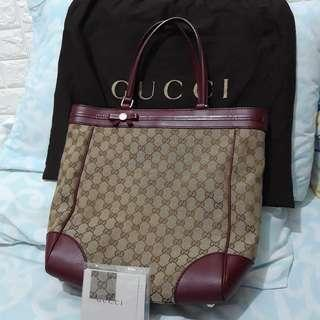 GUCCI Mayfair tote large