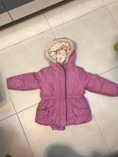 Oshkosh girls jacket 3T